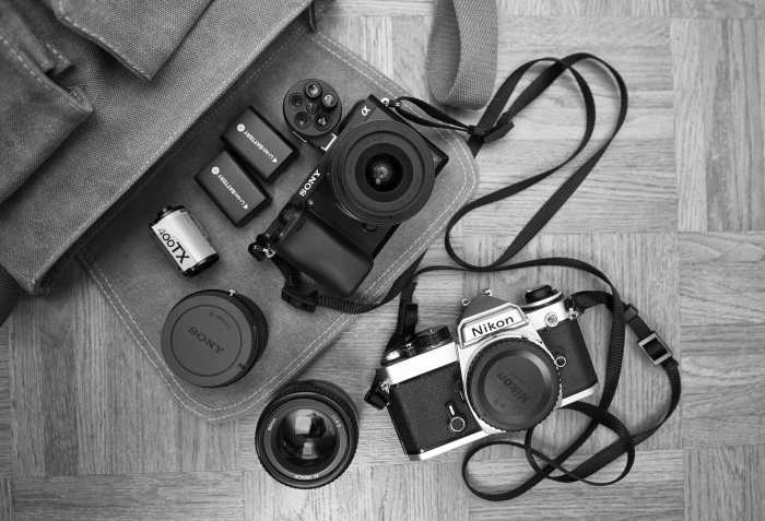 Inside Dusan Zidar's Camera Bag