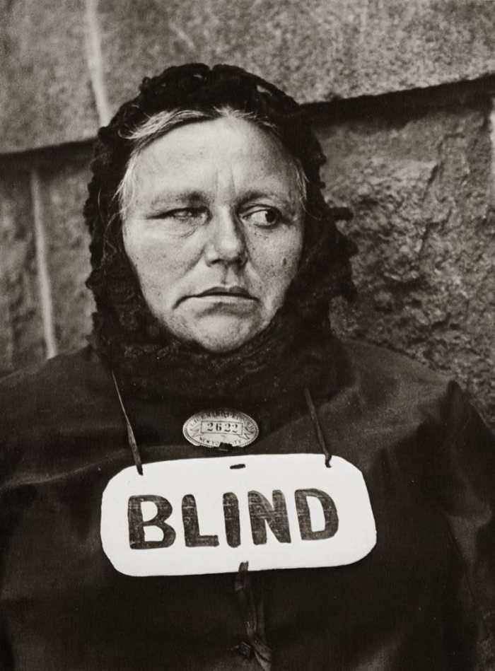 Blind by Paul Strand