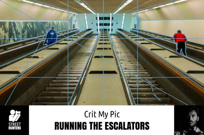 Weekly Pic - 'Running the Escalators'