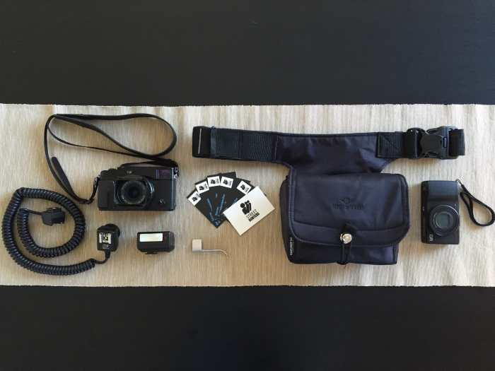 Inside Spyros Papaspyropoulos' Camera Bag