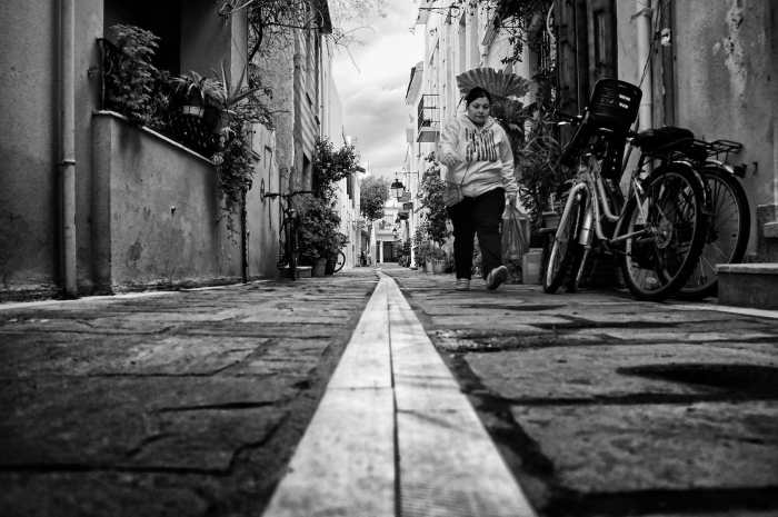 """alone in the alley"" by Spyros Papaspyropoulos"