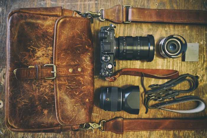 Nicholas Goodden's Camera Bag