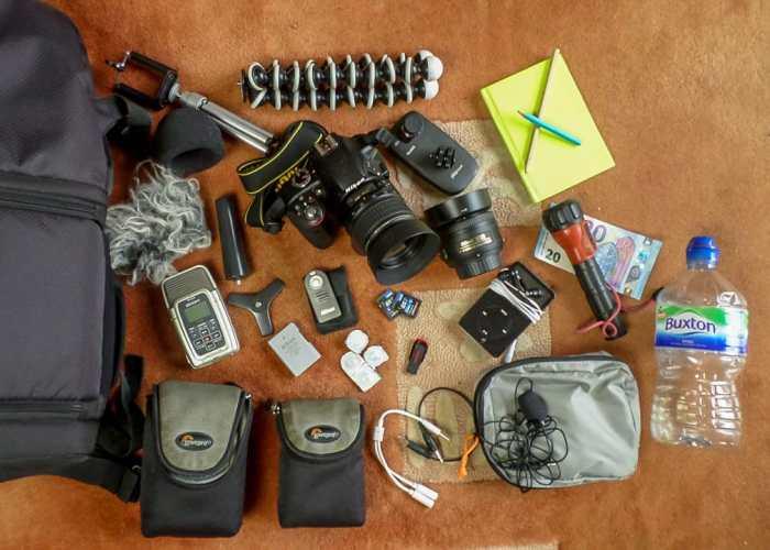 Sean Allen's Camera Bag