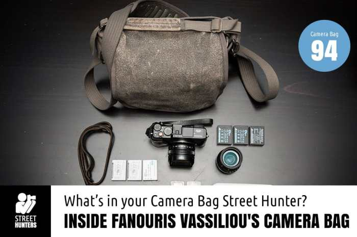 Fanouris Vassiliou's Camera Bag