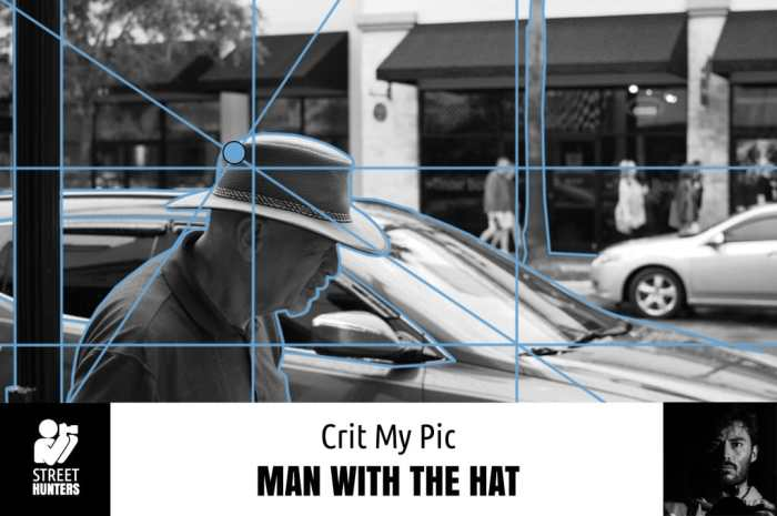 Crit My Pic 'Man with the Hat' by Andrew E. Brown