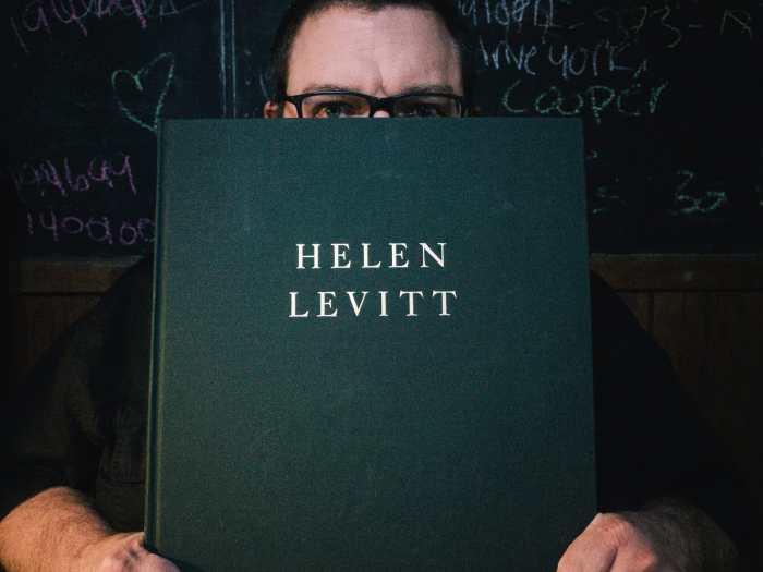 Helen Levitt Book Cover