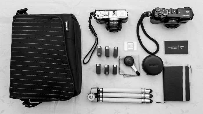 Camillo Torrisi's Camera Bag