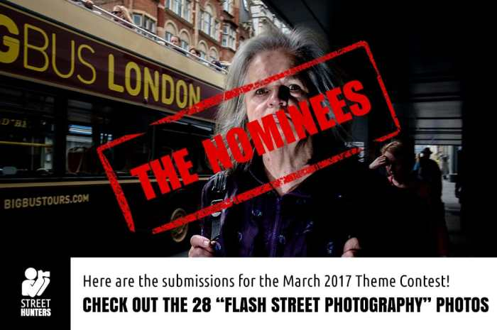 March 2017 Street Photography Contest nominees