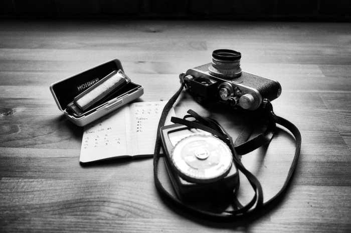 Inside Goran Begonja's camera bag