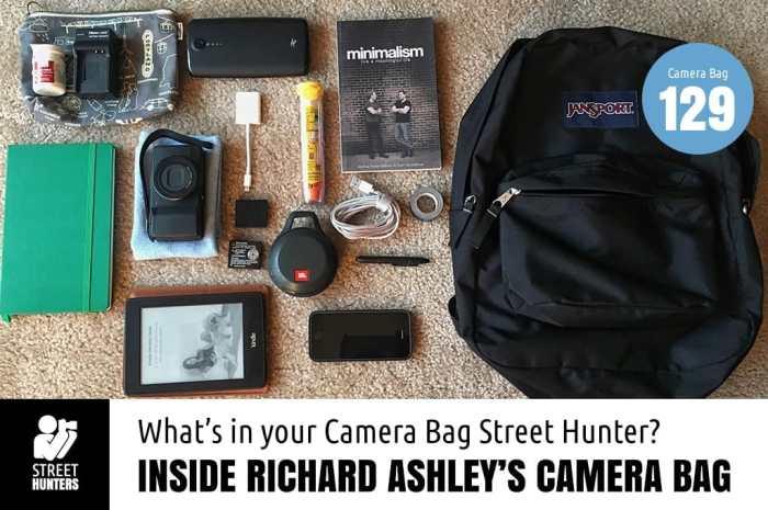 Inside Richard Ashley's Camera Bag