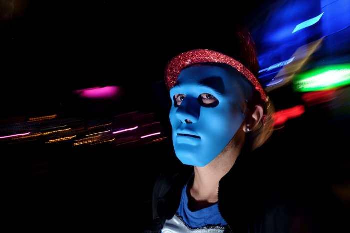 """Blue Mask"" by Spyros Papaspyropoulos"
