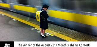 "Winner August 2017 ""The Colour Blue"" by Jasmin Gendron"