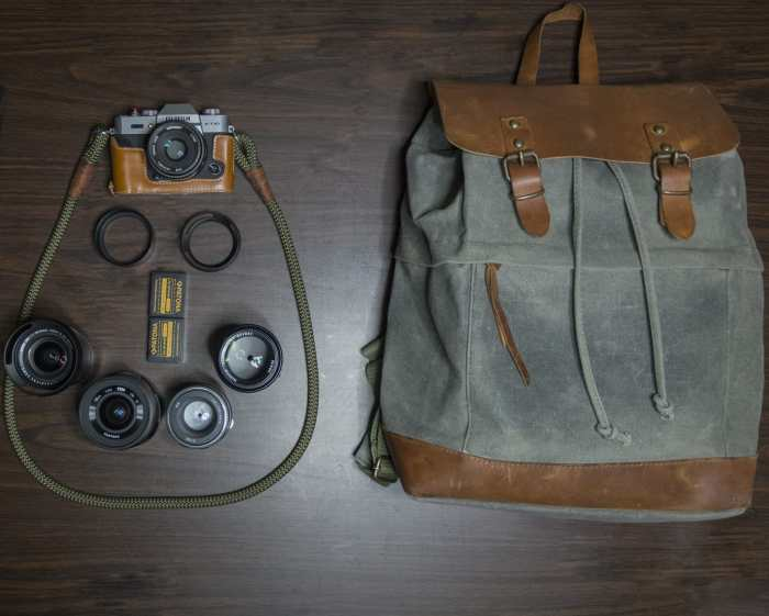 Alexandros Koukoulis Camera bag - Bag No. 139