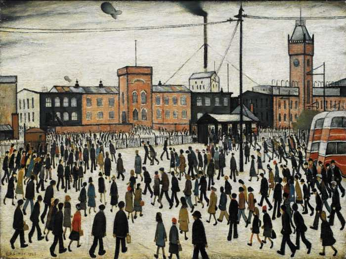 Going to Work L.S. Lowry