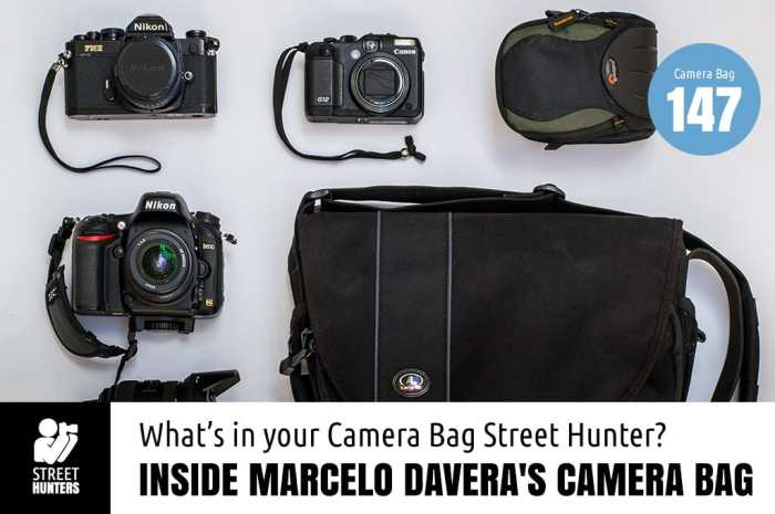 Inside Marcelo Davera's Camera Bag