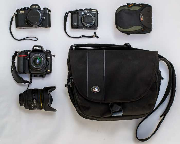Marcelo Davera's Camera Bag - Bag No. 147