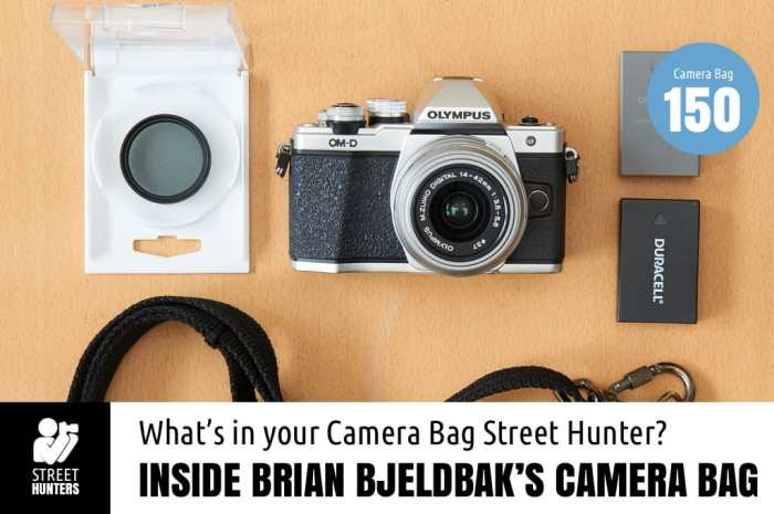 Inside Brian Bjeldbak's Camera Bag