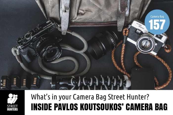 Inside Pavlos Koutsoukos' Camera Bag