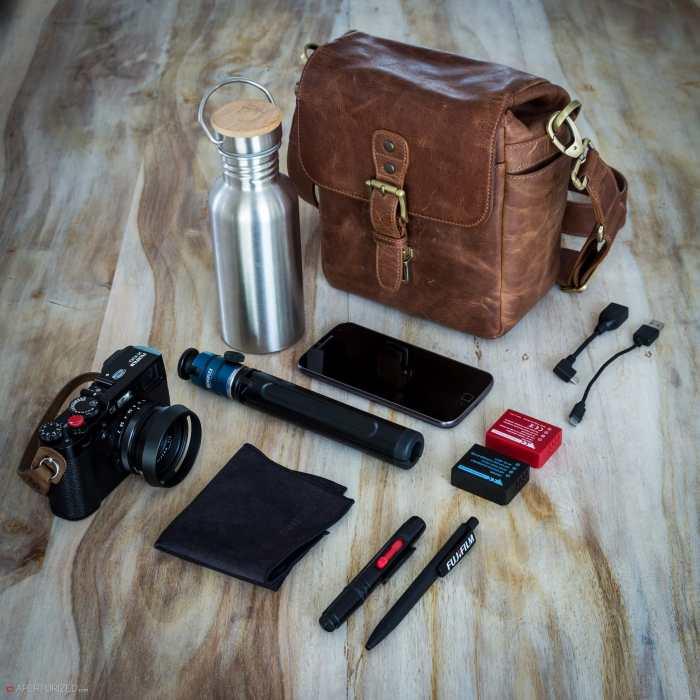 Inside Carsten Schlipf's Camera Bag - Bag No. 158