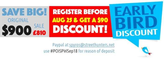Portland Street Photography Workshop Earlybird discount