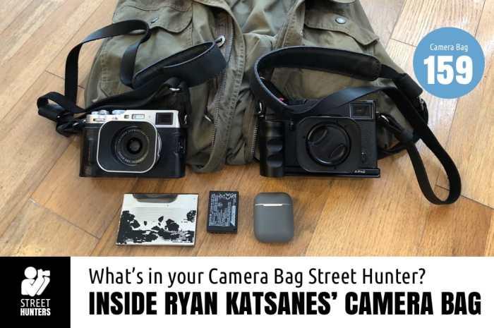 Ryan Katsanes' Camera Bag - Bag No. 159