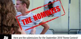 """September 2018 monthly theme contest """"Layers"""" nominees"""
