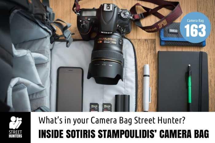 Inside Sotiris Stampoulidis Camera Bag - Bag No. 163