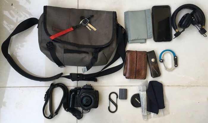 Inside Chen Guttman's Camera Bag - Bag No. 166