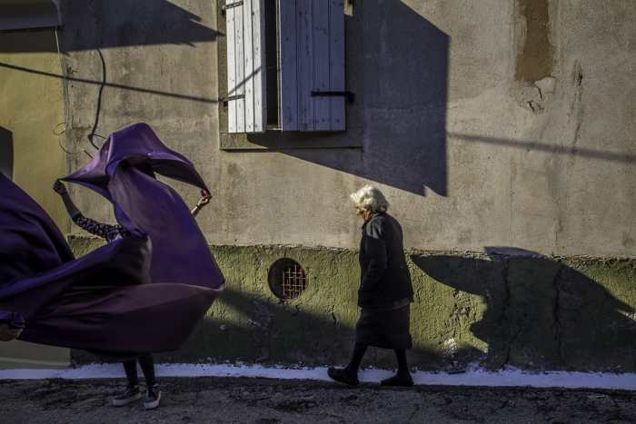 """""""Old & Young"""" Street Photograph by Markos Kyprianos"""