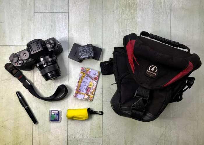 Inside Wayne Richards' Camera Bag - Bag no. 168