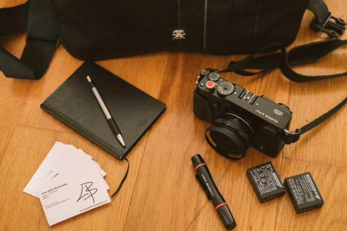 Inside Lewis Baker's Camera Bag - Bag No. 169