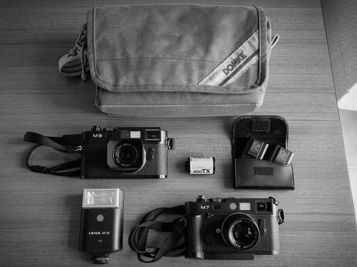 Inside Alessandro Cipriani's camera bag - Bag No.185
