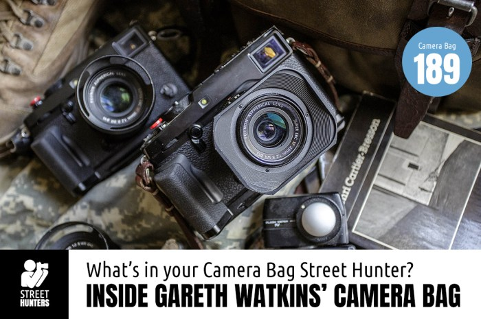Inside Gareth Watkins Camera Bag - Bar No.189