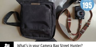 Inside Jens F Kruse's Camera Bag - Bag No.195