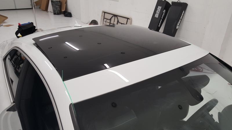 Street Image Motorsports Audi RS5 roof wrap vinyl wrap long island new york