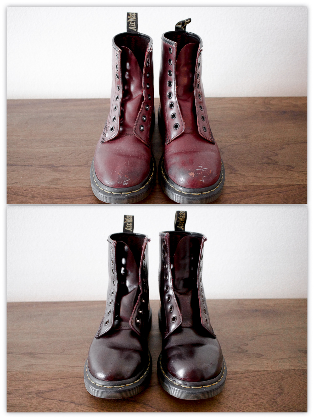 HOW TO PAINT LEATHER BOOTS | STREET MADONNA