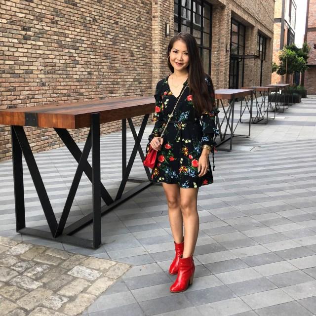 angelus fir red booties