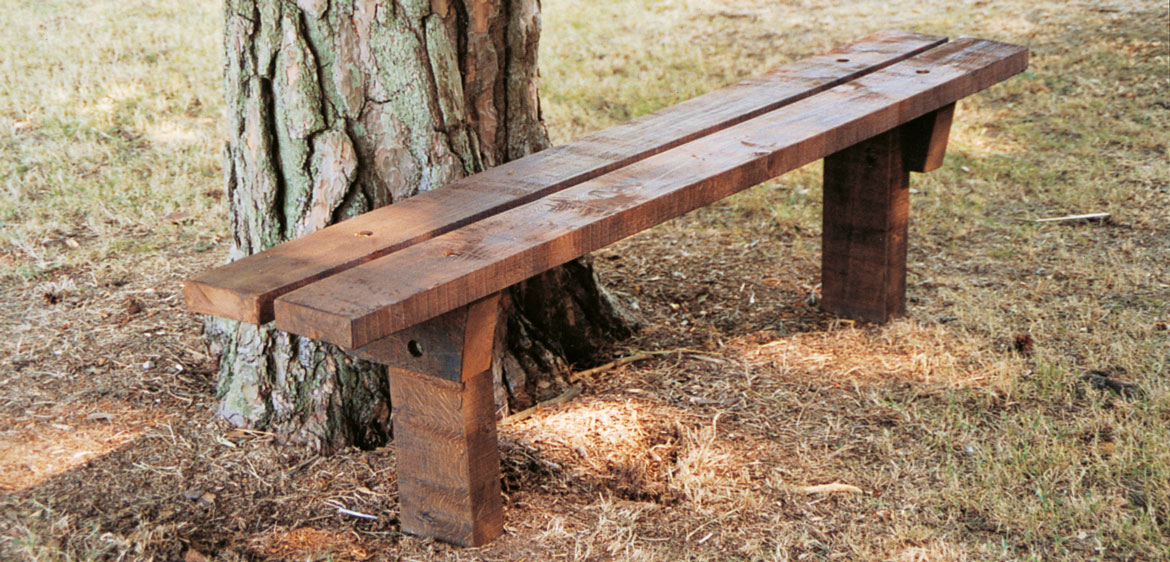 Woodland Bench Bench Streetmaster Products