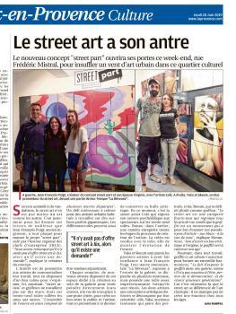 LA PROVENCE article STREET PART
