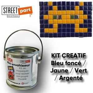Kit créatif Bleu Jaune