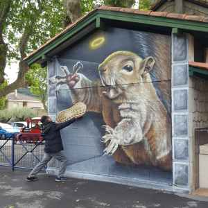 SOCK Street art