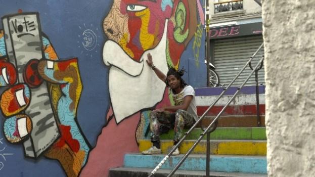 Le street Artiste Raphael FEDERICI