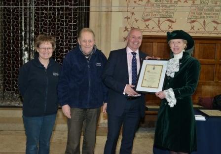Basingstoke Street Pastors award
