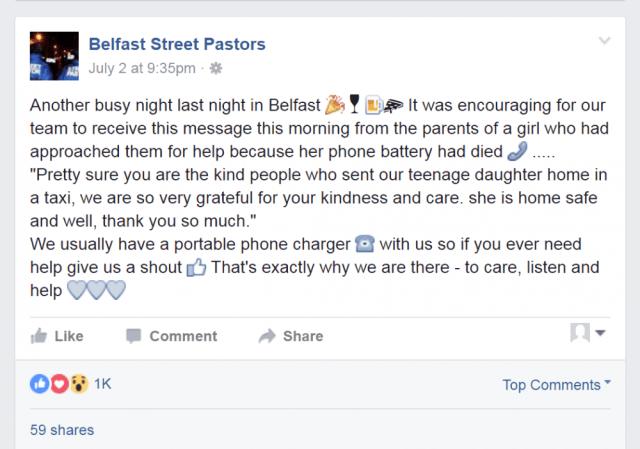 Belfast Street Pastors