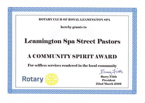 Leamington Spa Street Pastors