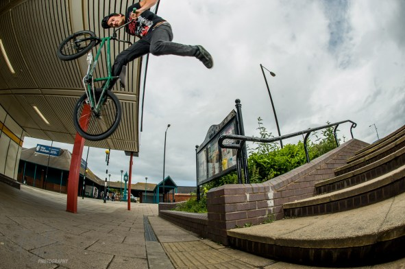 "Chris ""The Count"" Lee, Rail to Grizz, Byker"