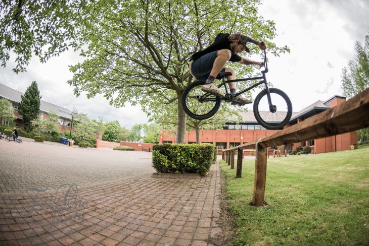 Ben Howgate - Curb Boost Fence Hop