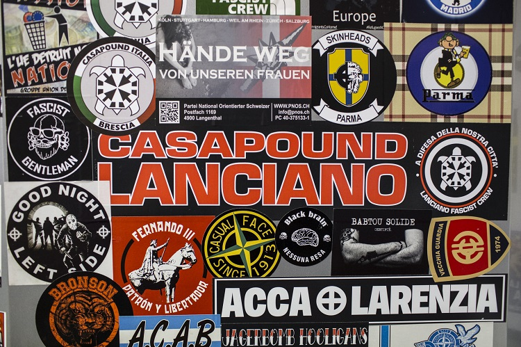BS casapound stickers
