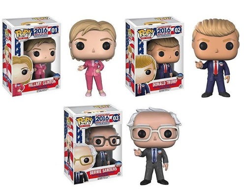 funko pop the vote campaign 2016 road to the white house vinyl
