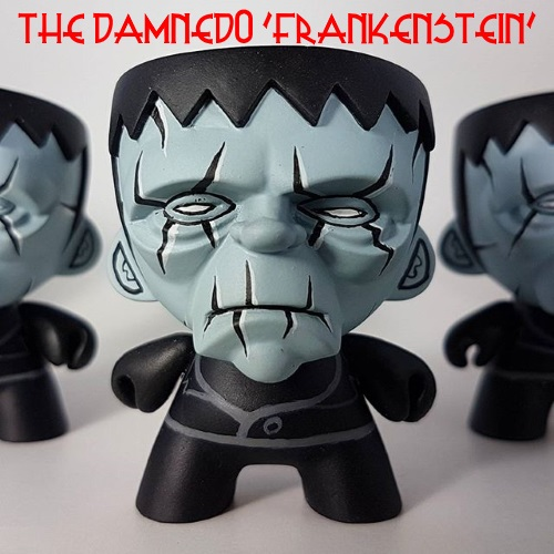 THE DAMNED FRANKENSTEIN